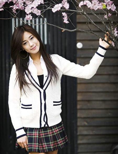 Những nữ sinh đẹp nhất xứ Hàn - 6