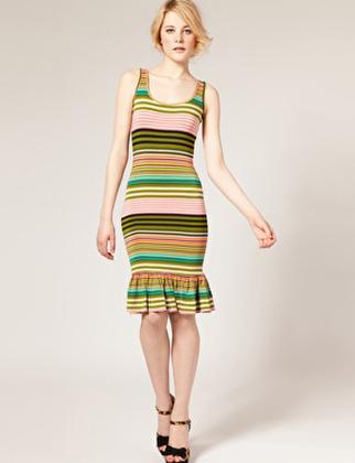 Tư vấn: Có nên mặc váy kẻ ngang như cô Kim? - 15