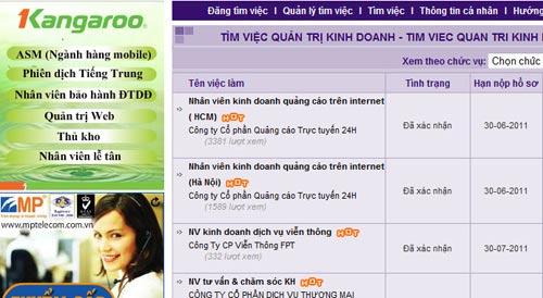 Tuyển dụng hiệu quả - Tìm việc dễ dàng tại vieclam.24h.com.vn - 1
