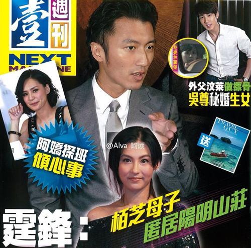 Bá Chi mang bầu với Trần Quán Hy? - 1