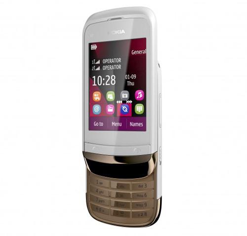 Nokia C2-03 – Dế cảm ứng, hai SIM giá rẻ - 1