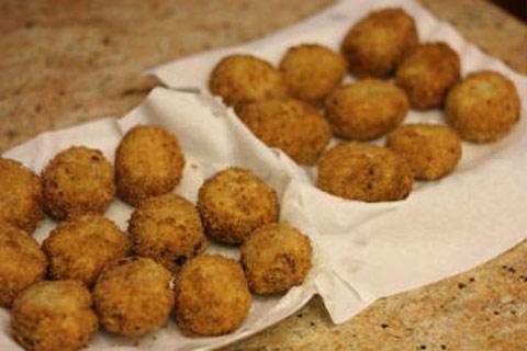 Giòn rụm khoai tây nhân thịt chiên xù - 16