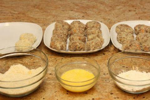 Giòn rụm khoai tây nhân thịt chiên xù - 14