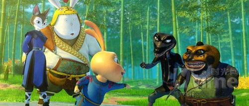 Video phim: Chú thỏ dũng cảm - 2