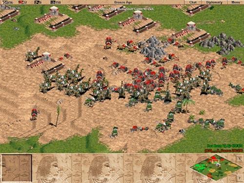 Trong AOE, người chơi phải khiển cả trăm quân nhưng tính cá nhân vẫn vượt trội.