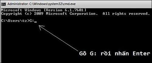Khắc phục file bị virus ẩn trong explorer - 1