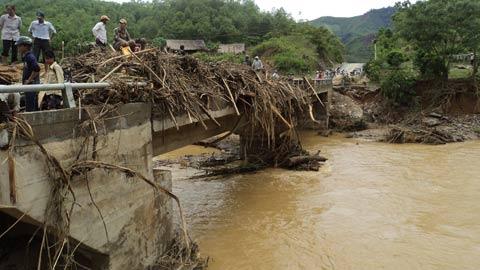 Cảnh lũ quét nhấn chìm miền tây Nghệ An - 9