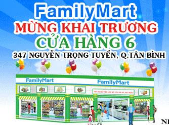 FamilyMart khai trương cửa hàng mới - 1