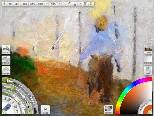 """Phần mềm mô phỏng vẽ tranh """"thật như cuộc sống"""" - 1"""