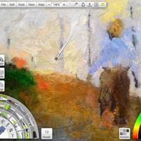 """Phần mềm mô phỏng vẽ tranh """"thật như cuộc sống"""""""
