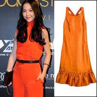 Mặc màu cam thế nào cho đẹp?