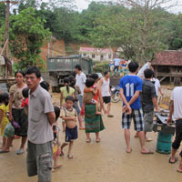 Phía Tây Nghệ An sau lũ: Cái đói cận kề