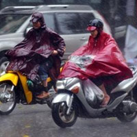 Bắc Bộ tiếp tục mưa dông trên diện rộng