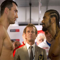 Nguy c  b i chin Klitschko  Haye