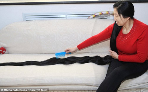 Những bộ tóc dài nhất thế giới - 2