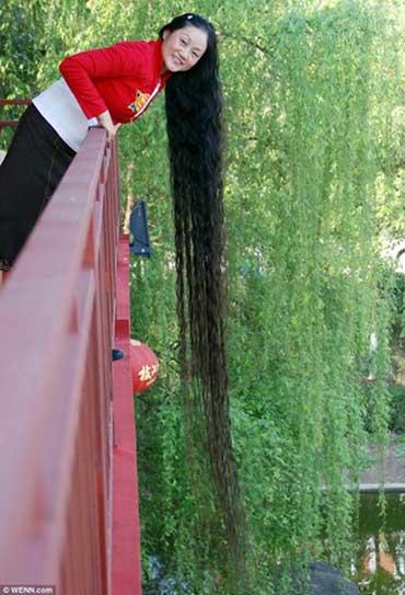 Những bộ tóc dài nhất thế giới - 4