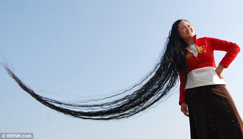 Những bộ tóc dài nhất thế giới - 5