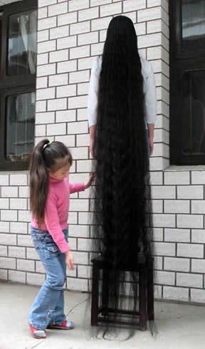 Những bộ tóc dài nhất thế giới - 10