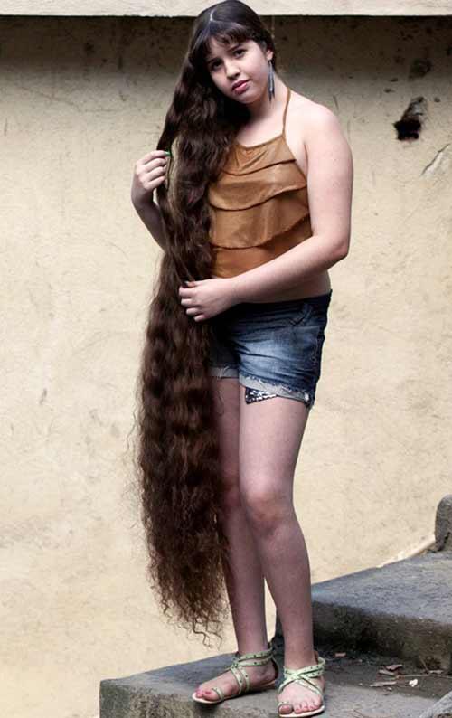Những bộ tóc dài nhất thế giới - 12