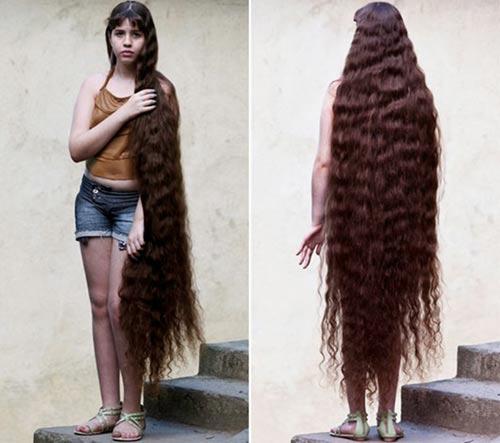 Những bộ tóc dài nhất thế giới - 13