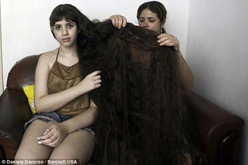 Những bộ tóc dài nhất thế giới - 11