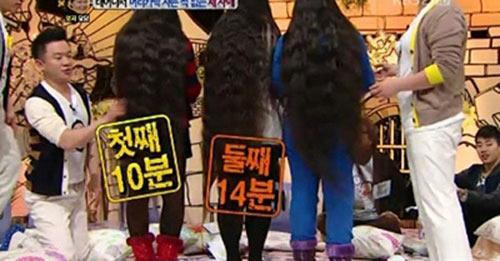 Những bộ tóc dài nhất thế giới - 7