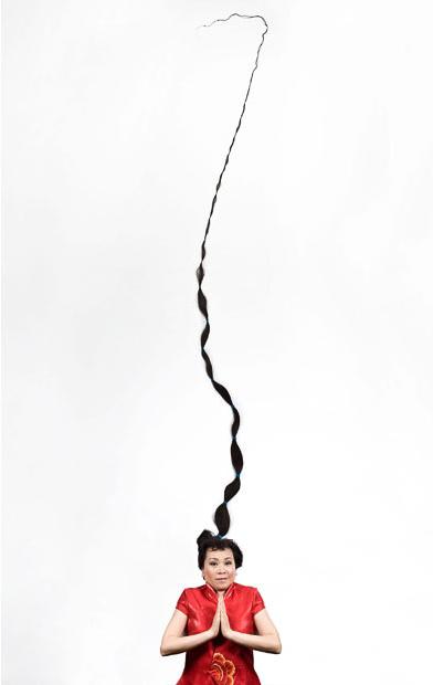 Những bộ tóc dài nhất thế giới - 9
