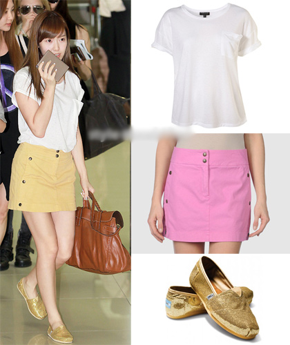 Học sao Hàn khoe chân sexy với miniskirt - 8