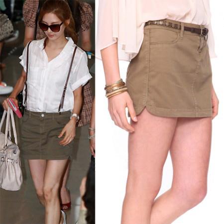 Học sao Hàn khoe chân sexy với miniskirt - 10
