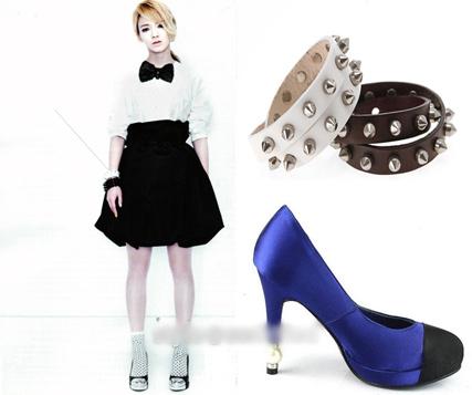Học sao Hàn khoe chân sexy với miniskirt - 7