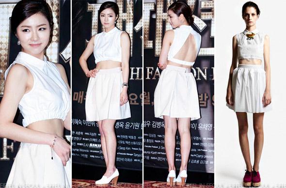 Học sao Hàn khoe chân sexy với miniskirt - 13
