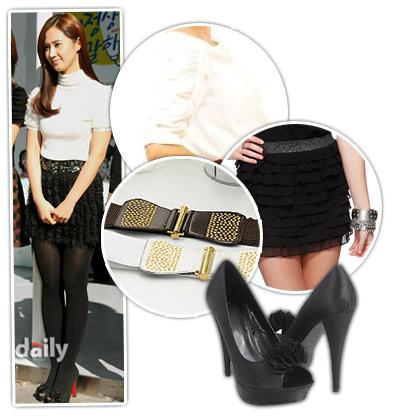 Học sao Hàn khoe chân sexy với miniskirt - 22