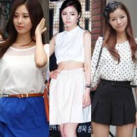 Học sao Hàn khoe chân sexy với miniskirt