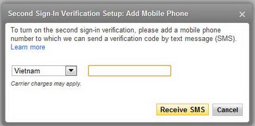 Dùng mật khẩu hai lớp cho tài khoản Yahoo! Mail - 3