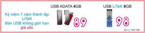Cơ hội mua USB 8GB giá siêu rẻ - 1