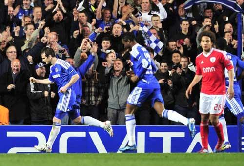 Chelsea – Benfica: Đôi công - 1