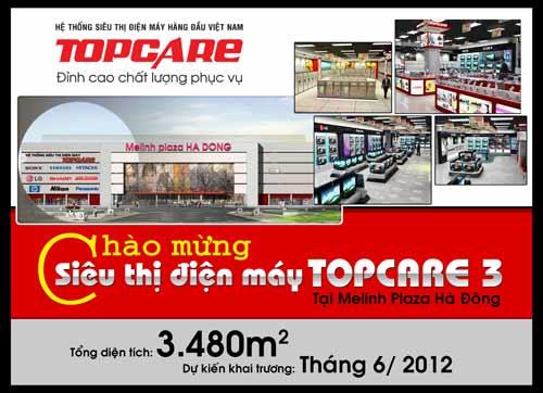 Topcare mở siêu thị điện máy thứ 3 tại Hà Đông - 2