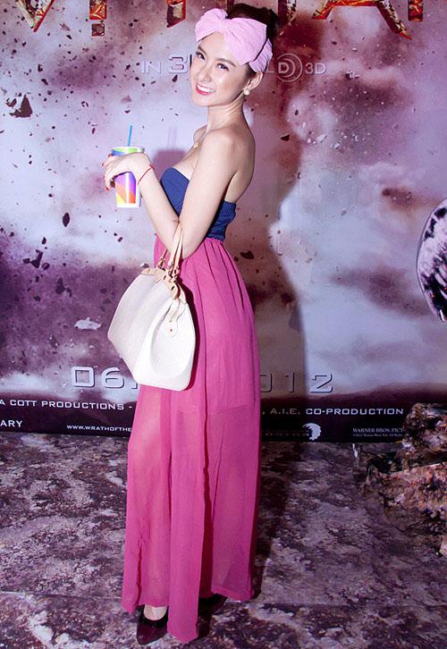 Angela Phương Trinh vai trần vẫn sến - 3