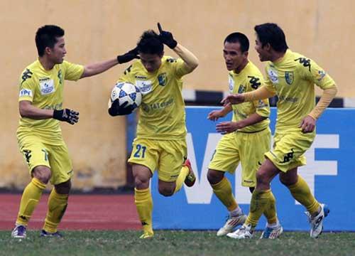 Vòng 13 V-League : Đánh chiếm ngôi đầu - 1