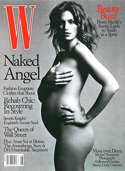 Ngây ngất ngắm ảnh nude của các bà bầu - 6