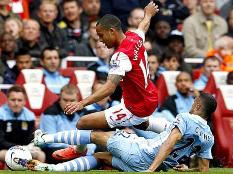 Arsenal - Man City: Phút 87 định mệnh - 1