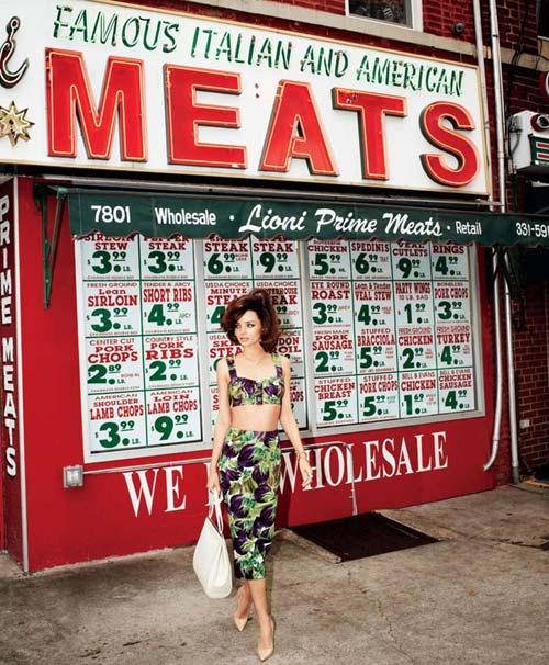 Miranda Kerr ghi hình tại châu Á - 8