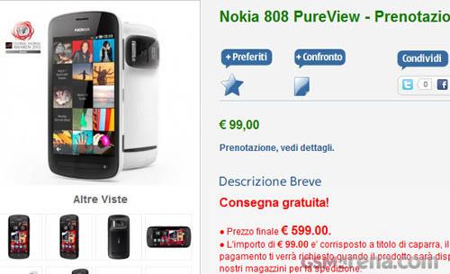Nokia 808 PureView giá trên 16 triệu đồng - 1