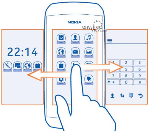 Nokia Asha 306: smartphone cấp thấp lộ ảnh - 1