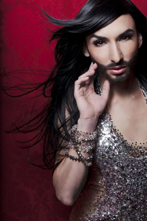 Nữ ca sỹ có râu gây xôn xao, Ca nhạc - MTV, Conchita Wurst, Tom Neuwirth, That's What I Am, My Heart Will Go On, ca sy co rau, rau quai non, quyen ru, goi cam, ca sy, ngoi sao ca nhac, ca nhac