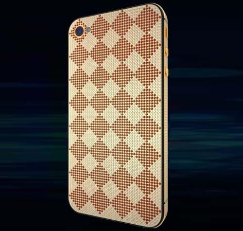 """Choáng"" bộ sưu tập iPhone 4S đẹp nhất thế giới, Thời trang Hi-tech, iPhone 4S, iPhone 4S ma vang, iPhone 4S nam kim cuong, iPhone 4, iPhone, iPhone 4S boc da ca sau, dien thoai, gia iPhone 4S, gia iPhone, Golden Dreams, Apple, bo suu tap iPhone dep nhat"