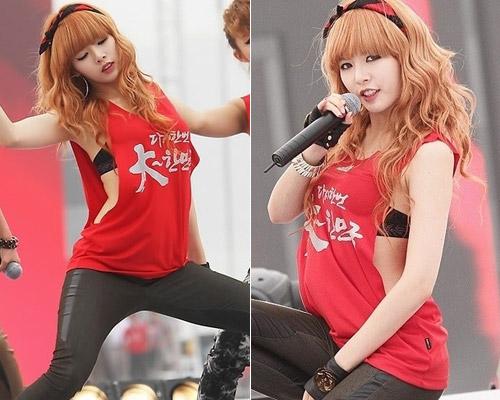 Sao Hàn mặc phản cảm giống Trang Trần - 5