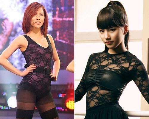 Sao Hàn mặc phản cảm giống Trang Trần - 11