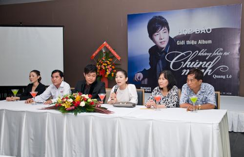 Lệ Quyên giản dị mừng Quang Lê ra album - 6