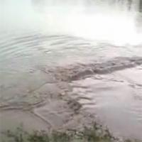 HN: Nước hồ đột ngột dâng cao vì động đất?